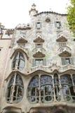 Casa Batllo στη Βαρκελώνη στοκ φωτογραφία