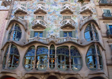 Casa Batllo στη Βαρκελώνη Στοκ φωτογραφία με δικαίωμα ελεύθερης χρήσης