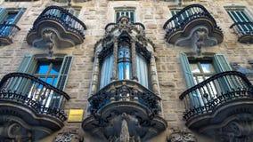 casa batllo της Βαρκελώνης Στοκ Φωτογραφία