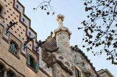 Casa Batllo Royalty-vrije Stock Foto's