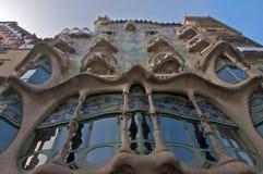Casa Batllo. Antonio Gaudí's Casa Batllo (the house of bones), Barcelona Royalty Free Stock Images