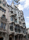 Casa Batllo. In Barcelona, Spain by architect Gaudi Stock Image