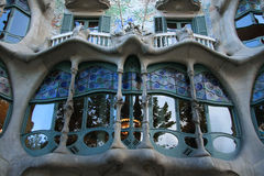 Casa Batllo Royalty Free Stock Photography
