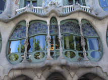 Casa Batllo 3 Royalty Free Stock Photos