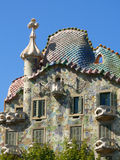 Casa Batllo. By Antoni Gaudi royalty free stock images
