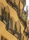 Casa batllo. This is casa batllo backside barcelona spain by gaudi Stock Images