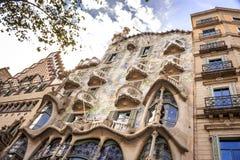 Casa Batllo by Antoni Gaudi in Barcelona, Spain Stock Photo