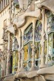 Casa Batllo by Antoni Gaudi in Barcelona, Spain Royalty Free Stock Photography