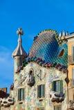 Casa Batllo.architect Antoni Gaudi. Stock Image