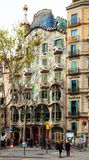 Casa Batllo. Barcelon Στοκ Φωτογραφίες