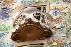 Casa Batllo Barcelona Arkivfoton
