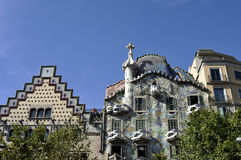 Casa Batllo, Barcelona Stock Photography