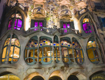 Casa Batllo: Barcelona Fotografia Stock