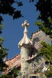 Casa Batllo - Barcelona stock foto's