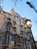 Casa Batllo in Barcelona Royalty Free Stock Photos