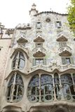 Casa Batllo in Barcelona stock photography