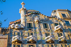 The Casa Batllo in Barcelona Stock Images