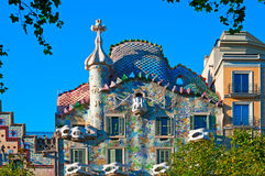 Casa Batllo, Barcelona - Spain Stock Photography