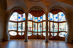 Casa Batllo, Barcelona, Spain. Royalty Free Stock Photo