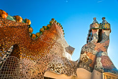 Casa Batllo, Barcelona, Spain. Stock Photo