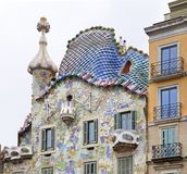 Casa Batllo in Barcelona. Spain Stock Photos