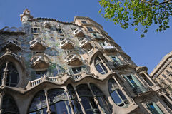 Casa Batllo in Barcelona, Spain Royalty Free Stock Images