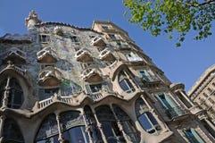 Casa Batllo in Barcelona, Spain Royalty Free Stock Images