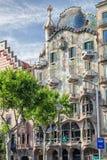 Casa Batllo in Barcelona, Spain Royalty Free Stock Image