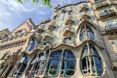 Casa Batllo in Barcelona, Spain Stock Photo