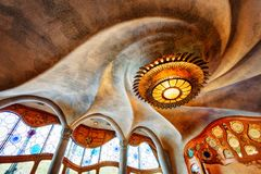 Casa Batllo Barcelona Spain. Taken in 2015 taken in HDR stock photography