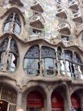 Casa Batllo in Barcelona, Spain Stock Photography