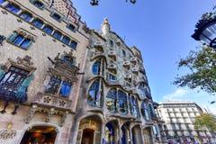 Casa Batllo - Barcelona, Spain Royalty Free Stock Images