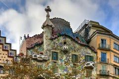 Casa Batllo - Barcelona, Spain Stock Photos