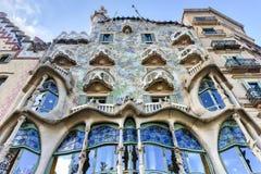 Casa Batllo - Barcelona, Spain Royalty Free Stock Photo