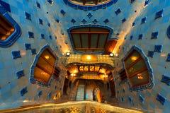 Casa Batllo - Barcelona Spanien Arkivbild