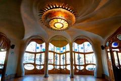 Casa Batllo, Barcelona, Spanje. Royalty-vrije Stock Fotografie