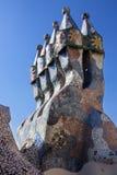 Casa Batllo - Barcelona - Spanje royalty-vrije stock foto