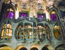 Casa Batllo, Barcelona, Spanje Royalty-vrije Stock Fotografie