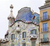 Casa Batllo in Barcelona spanje Stock Foto's