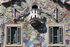 Casa Batllo detail Royalty Free Stock Photos