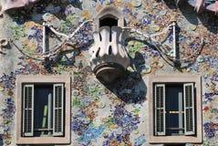 Casa Batllo detail royalty free stock photos