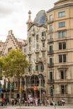 Casa Batllo, Eixample District, Barcelona, Spain Stock Photography
