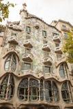 Casa Batllo, Eixample District, Barcelona, Spain Royalty Free Stock Photos