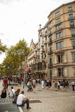 Casa Batllo, Eixample District, Barcelona, Spain Stock Photo