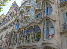 Casa Batllo, Eixample District, Barcelona, Spain Stock Photography