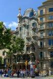 Casa Batllo, Eixample District, Barcelona, Spain Royalty Free Stock Images