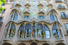Casa Batllo, Eixample-District, Barcelona, Spanje Stock Foto