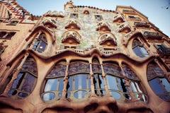Casa Batllo el 20 de abril de 2016 en Barcelona, España Fotos de archivo libres de regalías