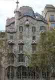 Casa Batllo en Barcelona Foto de archivo