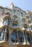 Casa Batllo en Barcelona Foto de archivo libre de regalías